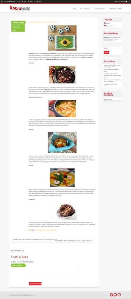 5 Kuliner Brasil Yang Patut Dicoba