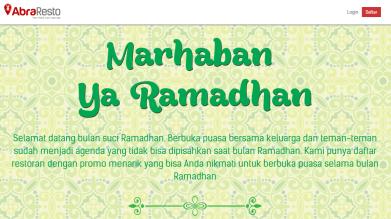 ramadhan landing page